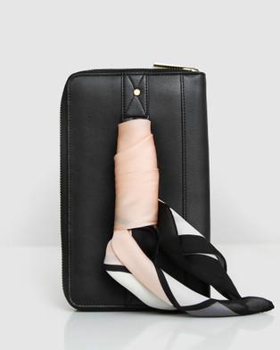 Belle & Bloom Wilona Leather Organiser - Wallets (Black)