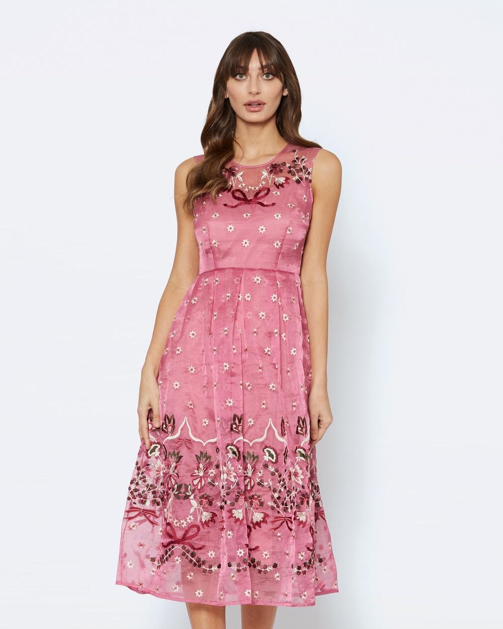 Alannah Hill Flower Paradise Dress Dresses Pink Flower Paradise Dress