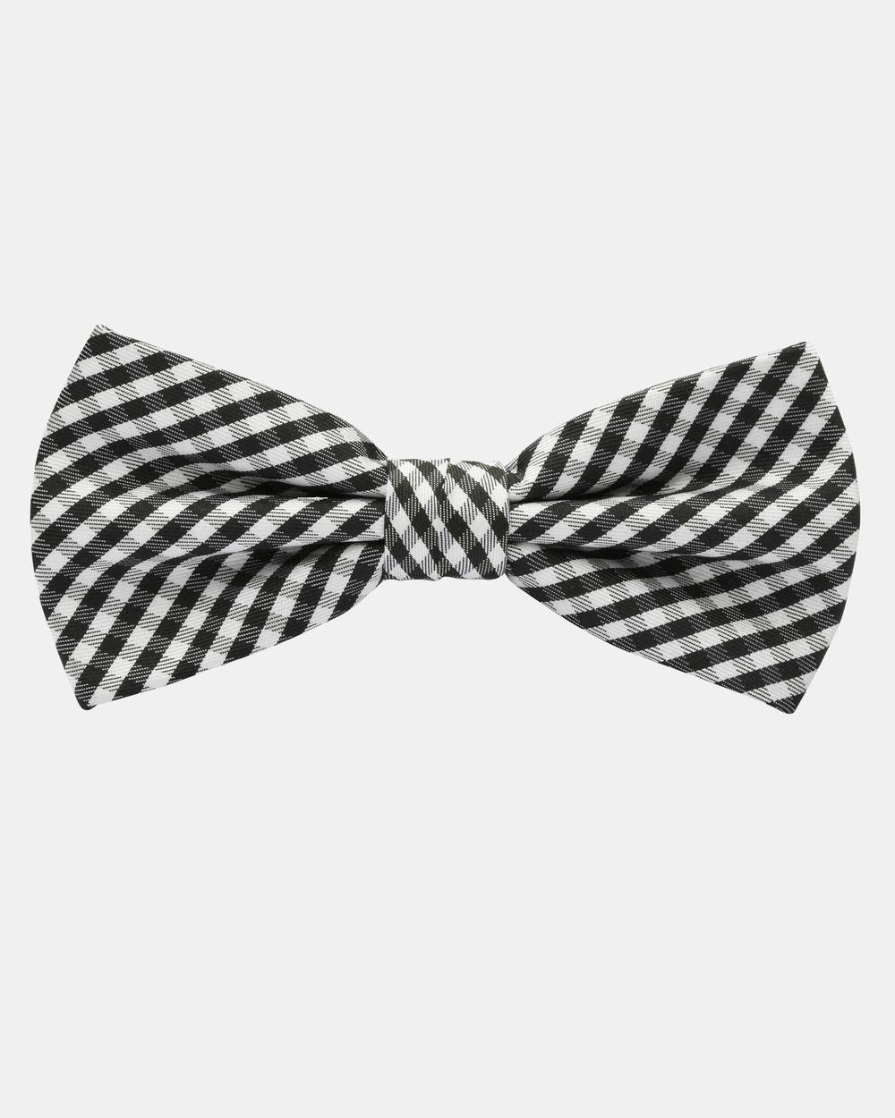 Buckle Vintage Check Bow Tie Ties & Cufflinks Check Australia