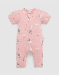 Purebaby - Zip Footless Sleepsuit - Babies
