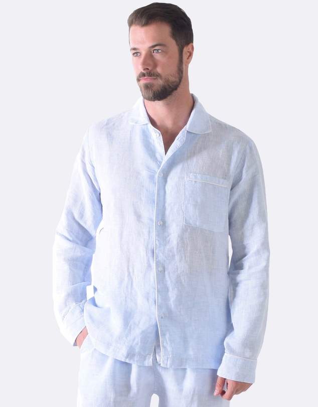 Sant And Abel - Bora Bora Blues Men's PJ Shirt