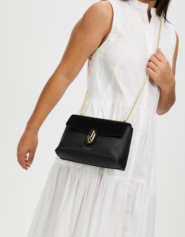 Women Naomina Twist-Lock Cross-Body Bag
