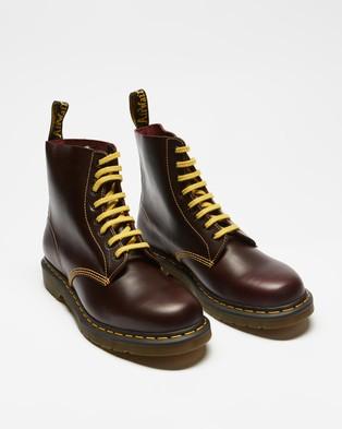 Dr Martens 1460 Pascal Atlas Boots   Men's - Boots (Oxblood)