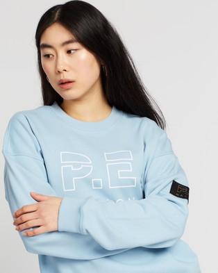 P.E Nation Heads Up Sweat - Sweats (Blue Pale)