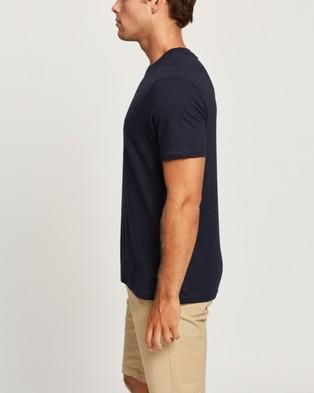 Ben Sherman - Abstract Target Tee T-Shirts & Singlets (Dark Navy)