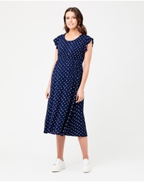 Ripe Maternity - Bobbie Shirred Dress