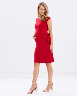 Bamboo Body – Shell Dress Red