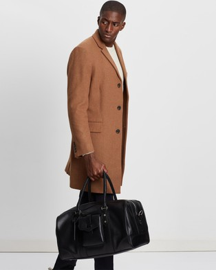 R.M.Williams The Signature Overnight Bag Duffle Bags Black