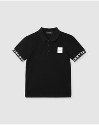 DKNY - Short Sleeve Polo - Kids-Teens