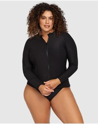 Artesands - Hues Sunsafe Long Sleeve Top Black
