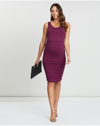 Angel Maternity - Maternity Summer Bamboo Bodycon Dress