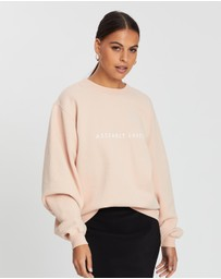 Assembly Label - Logo Fleece Sweater - Women's
