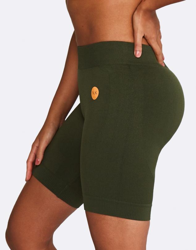 Women Seamless Bike Shorts
