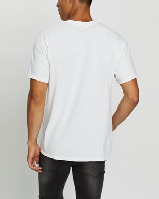 Mitchell & Ness Last Dance Champs Tee - Short Sleeve T-Shirts (Vintage White)