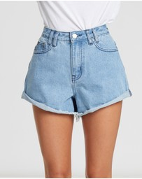 Calli - Calli Denim Shorts