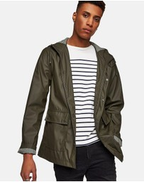Topman - Showerproof Rubberised Jacket