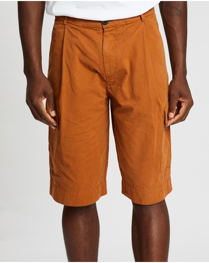 Christopher Raeburn Laundered Shorts Rust