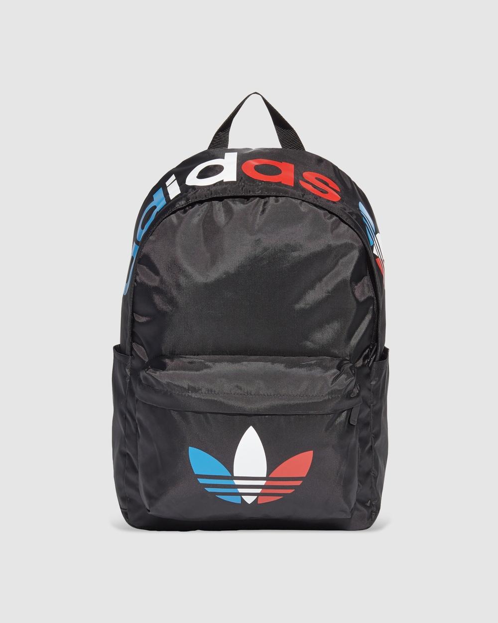 adidas Originals Adicolor Tricolor Classic Backpack Backpacks Black