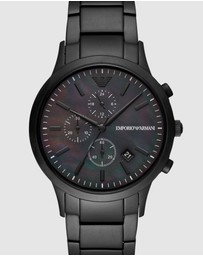 Emporio Armani - Black Men's Chronograph Watch