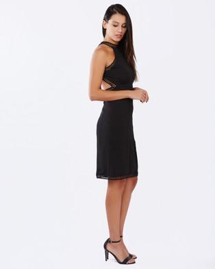 Buy PIZZUTO - Martini Cocktail Dress Black -  shop PIZZUTO dresses online