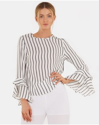 Rylee Striped Top