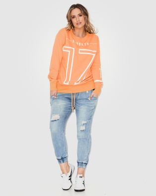 17 Sundays 17 Sweat - Jumpers & Cardigans (Peach)