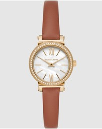 Michael Kors - Sofie Brown Analogue Watch MK2896