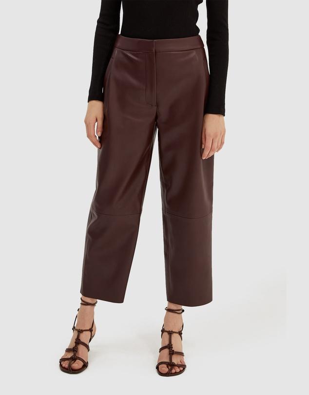 Women Viv Vegan Leather Pants