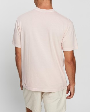 Afends Clean Earth Retro Fit Tee - T-Shirts & Singlets (Ariel Pink)