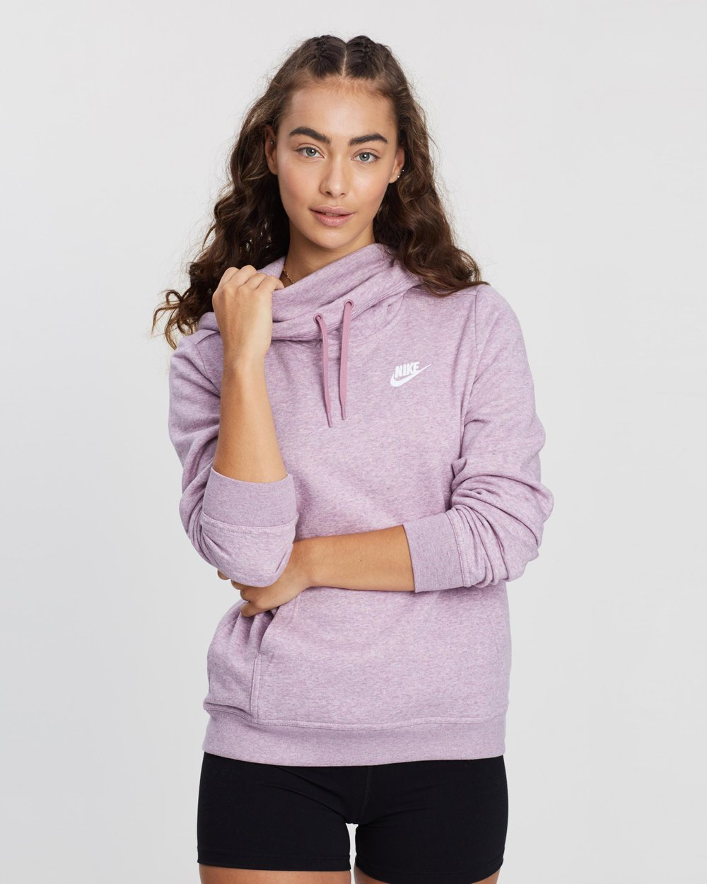 new style 59144 f7ada Funnel-Neck Hoodie by Nike Online   THE ICONIC   Australia