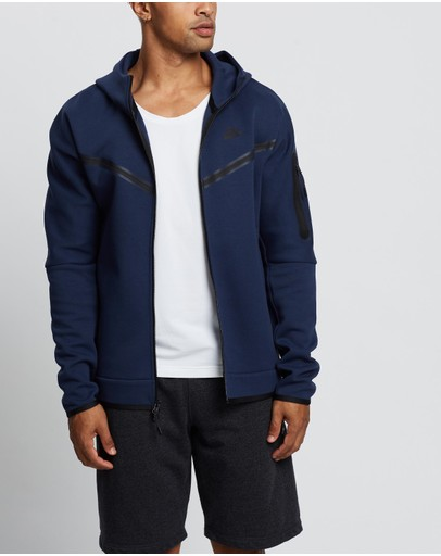 Nike - Sportswear Tech Fleece Full-Zip Hoodie