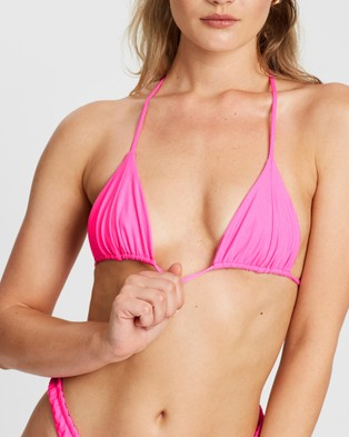 VDM The Label Marley Bikini Top - Bikini Set (Neon Pink)