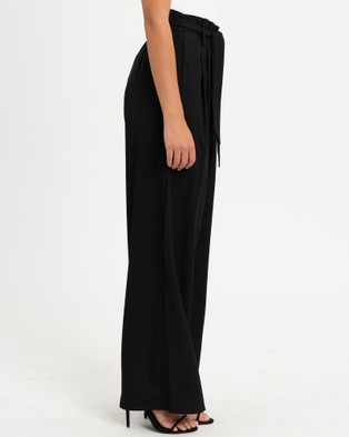 Reux Leo Paperbag Pants - Pants (Black)