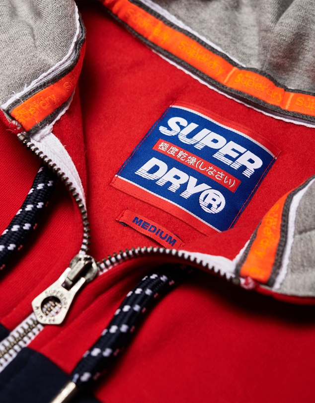 Superdry - Applique Oversized Nu Lad Zip Hoodie