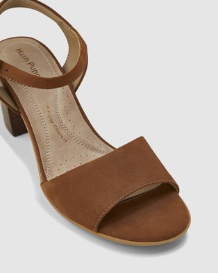 Hush Puppies Lindera - Sandals (Tan Nubuck)