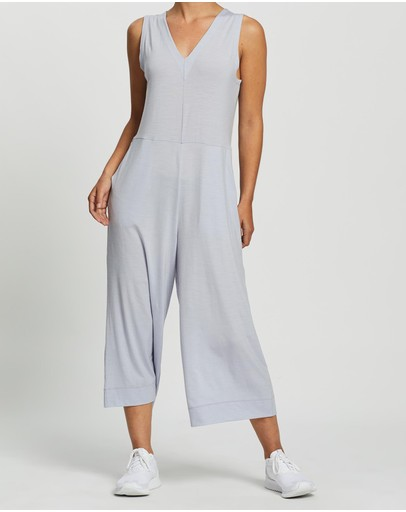 Icebreaker Hana Jumpsuit Mercury Heather