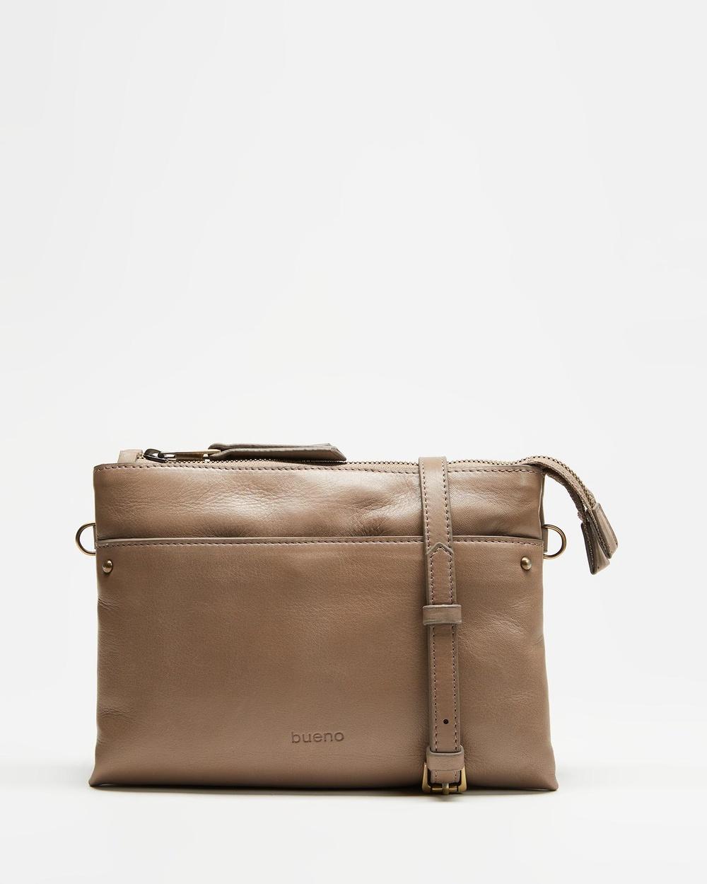 Bueno Daniella Handbags Darkstone Australia