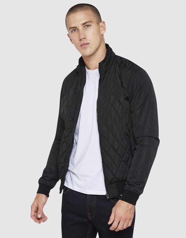 Oxford - Benjamin Quilted Puffa Jacket