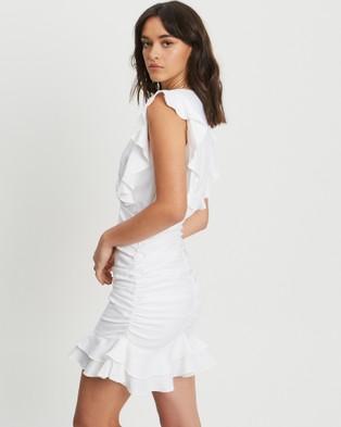 Tussah Shantel Mini Dress - Dresses (White)