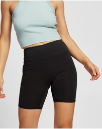 Factorie - High Waisted Elevated Bike Shorts