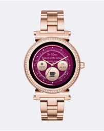 Michael Kors - Smartwatch Sofie Rose Gold-Tone