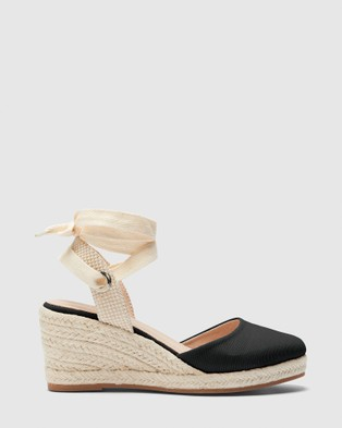 Novo Brodie - Wedges (Black)