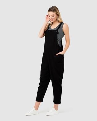 Ripe Maternity Poppy Jumpsuit - Jumpsuits & Playsuits (Black)