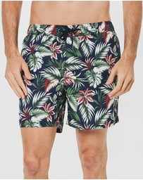 Coast Clothing - Floral Cruise Board Shorts