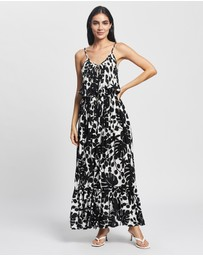 Kate Spade - Monstera Grove Cover-Up Maxi Dress