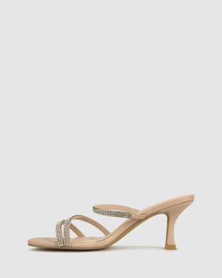 Betts Lexi 2 Slip On Sandals - Sandals (Nude)