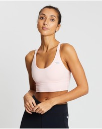 Running Bare - Lotus Long Line Sports Bra