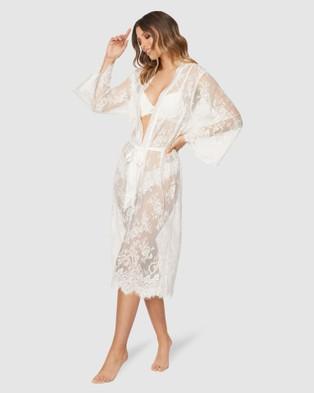 Pilgrim Rashida Lace Robe - Sleepwear (Ivory)