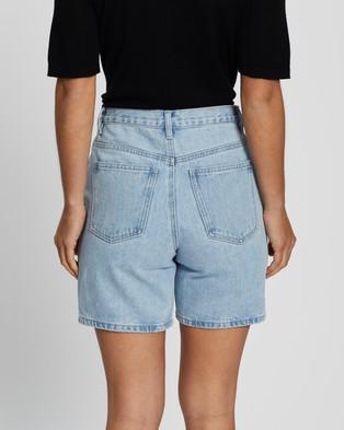 Assembly Label Rowley Denim Shorts - Denim (Pacific Blue)
