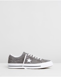 Converse - One Star Vintage Suede Low-Tops - Unisex